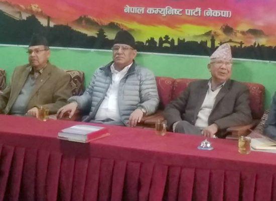 दाहाल-नेपाल समुहको स्थायी कमिटि बैठक