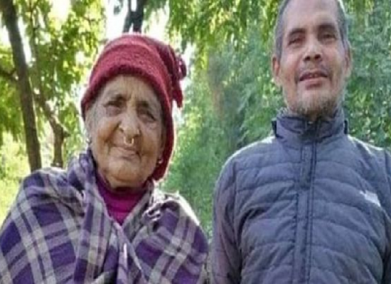 janasanchr ,४० वर्ष पछि आमाका साथ् भारतीय जेलबाट छुटेका दुर्हा तिम्सिना