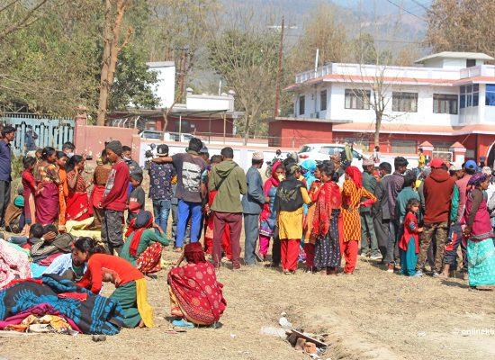 करानाली प्रदेश सरकार भवन अगाडी धर्ना दिंदै वादी समुदाय , janasanchar