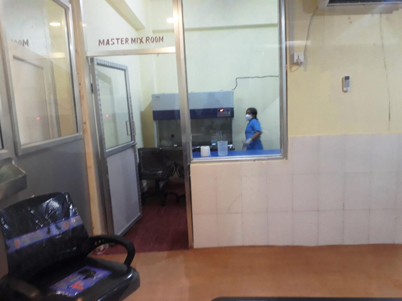 janasanchar ,धवलागिरी अस्पतालमा कोरोना परीक्षणको तयारी