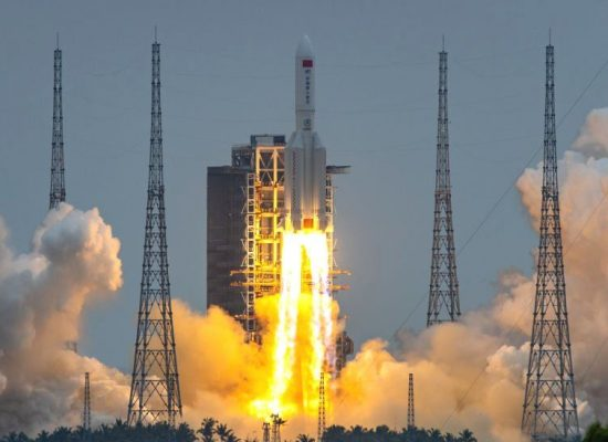 janasanchar ,चीनद्वारा अन्तरिक्षमा प्रक्षेपण गरिएको रकेट